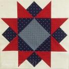 Morning star patchwork block