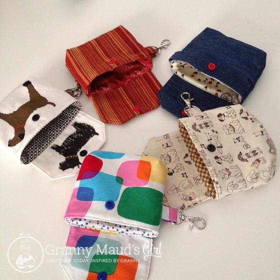 Tiny coin purses